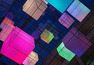 Cube Chandelier, Zwolle, the Netherlands
